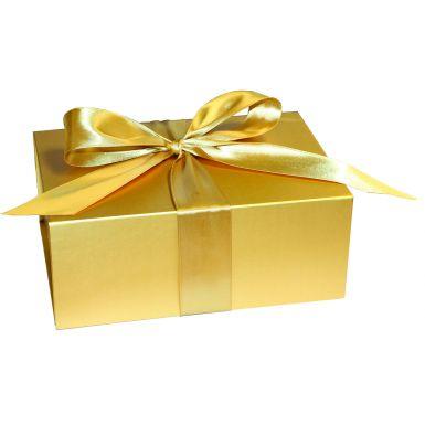 Metallic Gold XLarge Folding Box
