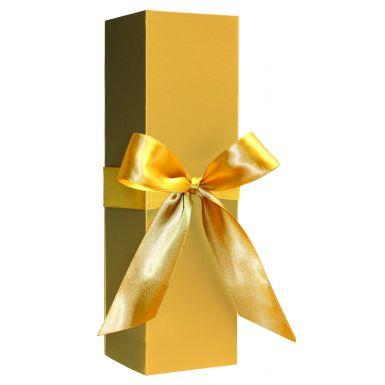 Metallic Gold Bottle Folding Box