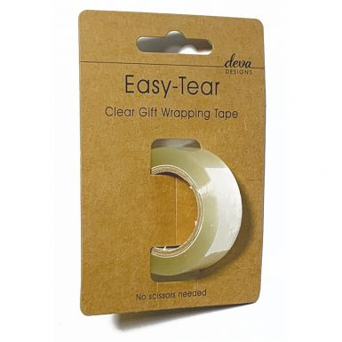 Easy-Tear Gift Wrapping Tape