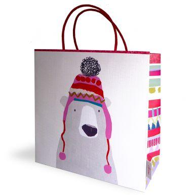 Gift Bag Medium STC Polar Bear