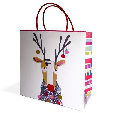 Gift Bag Medium STC Reindeer