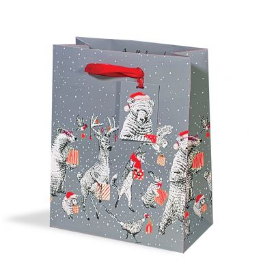 Gift Bag Medium Animal Party