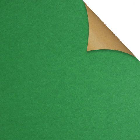 Gift Wrap Kraft Green
