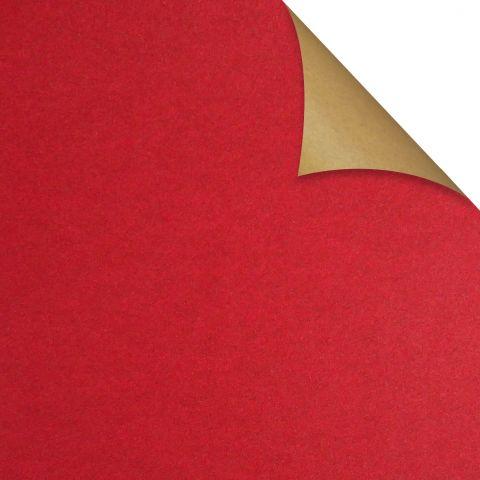 Gift Wrap Kraft Red