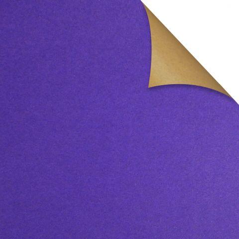 Gift Wrap Kraft Violet