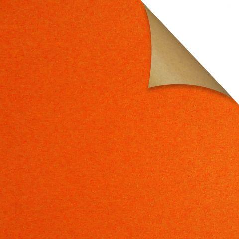Gift Wrap Kraft Orange