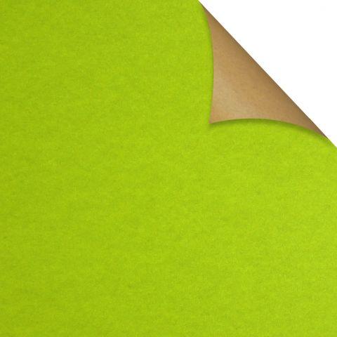 Gift Wrap Kraft Lime