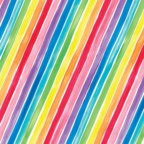 Gift Wrap Rainbow Rock