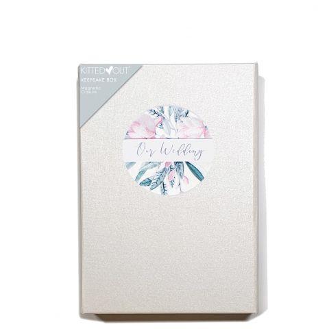 WeddingFloral  Wedding (Medium) Keepsake Box