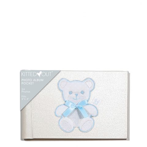 Teddy Blue Pocket Photo Album