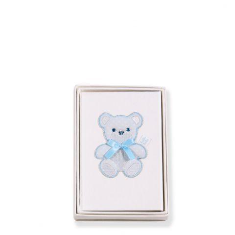 Teddy Blue (Oval) Photo Frame