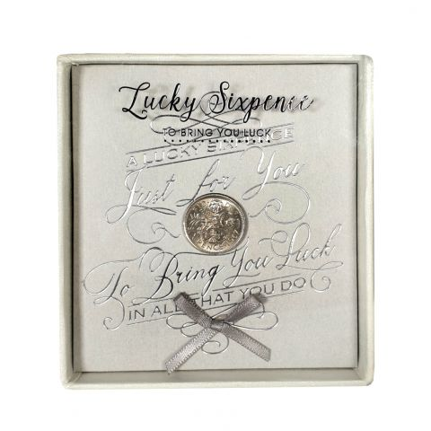 Lucky Sixpence Just for you - Baby Silver