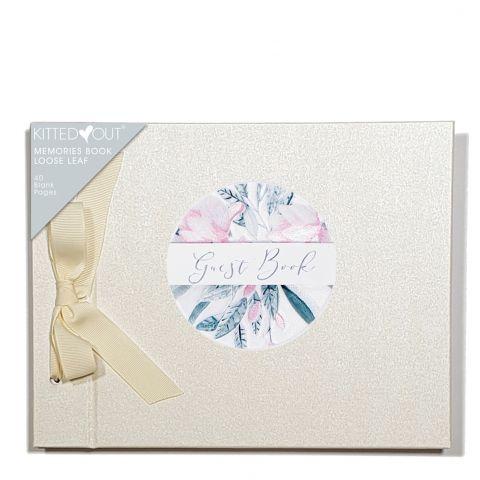Wedding Floral  (Loose Leaf) Memories Book