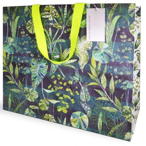 Gift Bag Carrier Designers Guild Arjuna Green